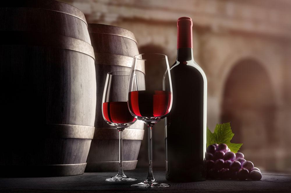 Vinification du vin rouge Corneilhan dans l'Hérault (34)